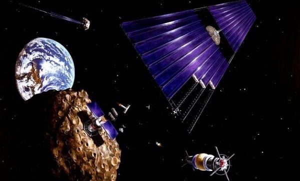 Разработка астероидов сделает планету чище